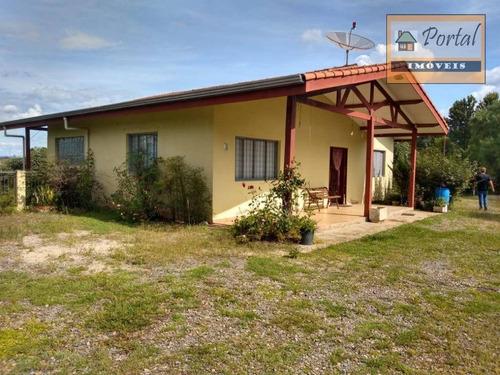 Chácara Com 2 Dormitórios À Venda, 20000 M² Por R$ 550.000 - Maracanã - Jarinu/sp - Ch0178