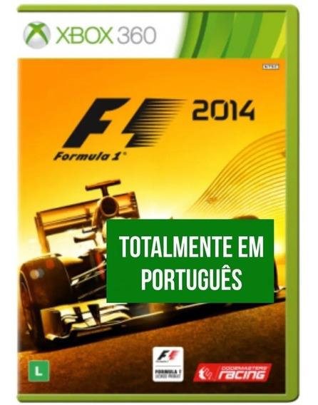 Jogo Formula 1 2014 Xbox 360 Novo Original Lacrado Física