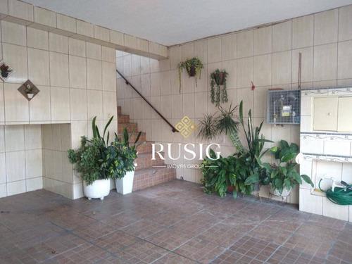 Imagem 1 de 28 de Sobrado À Venda, 220 M² - Jardim São Nicolau - São Paulo/sp - So0957