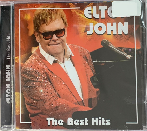 Cd Elton John - The Best Hits (original E Lacrado)