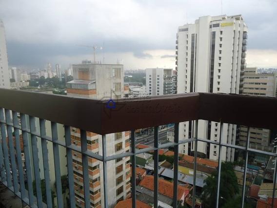 Andar Alto Com Varanda E Linda Vista, Em Ótima Localização No Jardim Paulista, 34 M², 1 Vaga - Ap1533ati