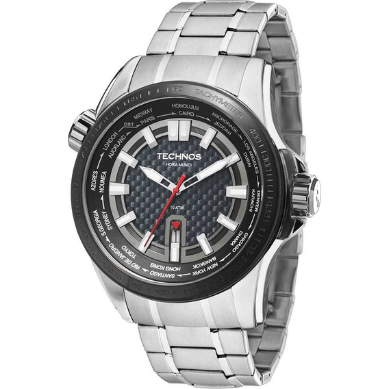 Relógio Masculino Technos Analógico Casual 2115knu/1k Clocke