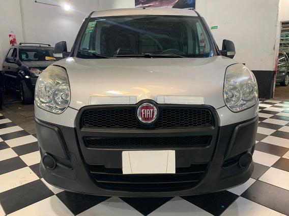 Fiat Doblo Cargo 1.4 Active 2014 Gris Financio Permuto Cuota