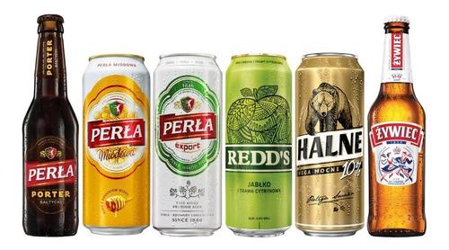 6 Pack De Cervezas Polacas Surtidas