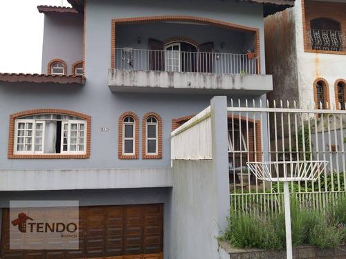 Imagem 1 de 20 de Imob03 - Sobrado Com 3 Dormitórios À Venda, 327 M² Por R$ 1.300.000 - Jardim Panorama - Ribeirão Pires/sp - So0620