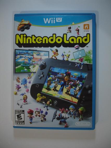Nintendo Land Wii U Em Ótimo Estado !