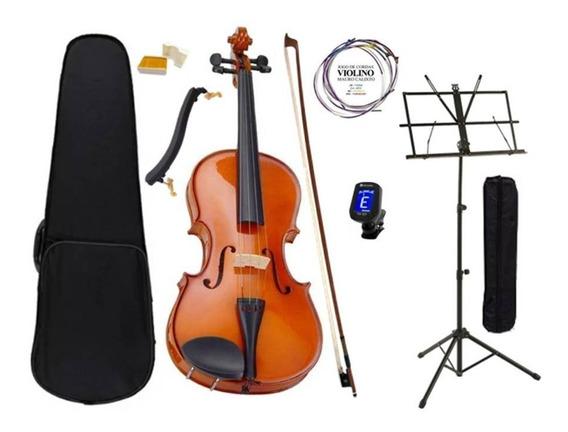 Violino 4/4 Completo Com Acessórios