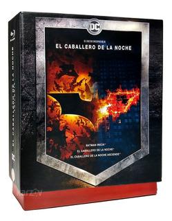 Batman Caballero Noche Dark Knight Trilogia Boxset Blu-ray