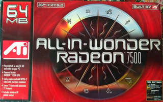 Tarjeta Capturadora De Video Ati Radeon 7500 Control Remoto