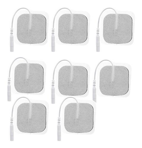 Parches Electrodos Carbon Tens 5x5cm/ Precio X 8 Unidades
