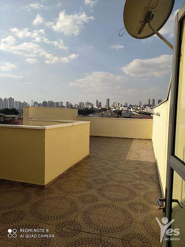 Imagem 1 de 26 de Ref.: 5245 - Cobertura Sem Condomínio Com 2 Dormitorios, Sendo 1 Suíte, 1 Vaga, Jardim Bom Pastor, Santo André - 5245