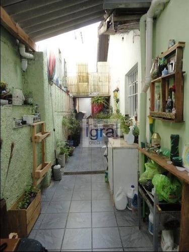 Casa Com 3 Dormitórios À Venda, 110 M² Por R$ 450.000,00 - Vila Guarani (zona Sul) - São Paulo/sp - Ca0318