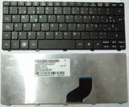 Teclado Acer Aspire One 521 522 532 532g 532h 533 Español