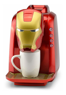 Marvel Mva-802 Iron Man Single Serve Coffee Maker Red/gold