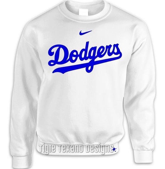 Sudadera Básica Dodgers Los Angeles Mod P ( Tigre Texano D.)
