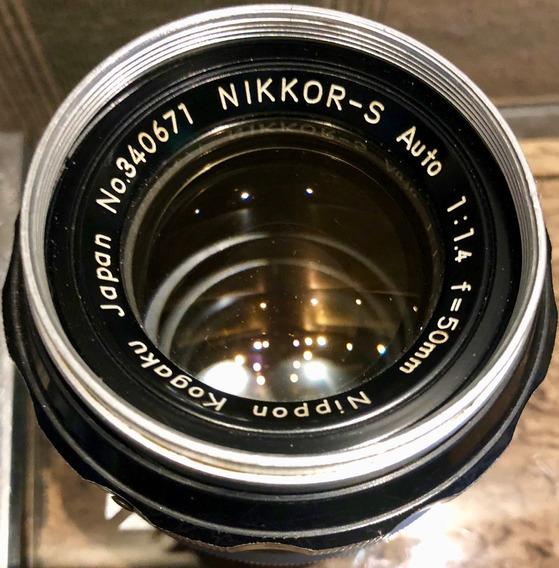 Vendo Lente 50mm F/1.4 Nikkor-s 340671 Excelente Estado