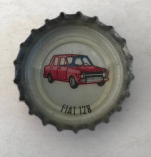 Chapita Tapita Crush Serie Autos Argentinos Fiat 128