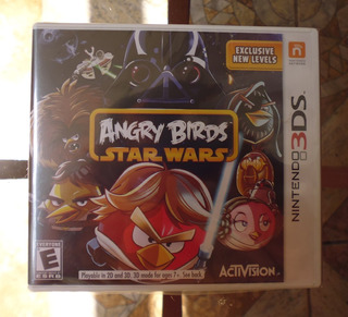 Angry Birds Star Wars - Nintendo 3ds Sellado Nuevo