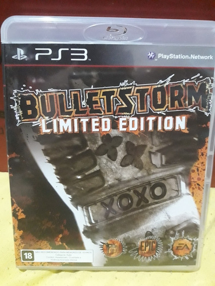 Bulletstorm (jogo Mídia Física Playstation 3) Ps3