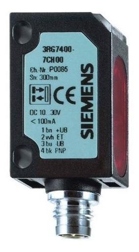 Sensor Laser 150mm Pnp 3rg7408-7ch00