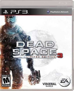 Juego Ps3 Dead Space 3 Limited Edition