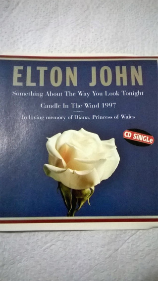 Elton John Cd Single Candle In The Wind 1997