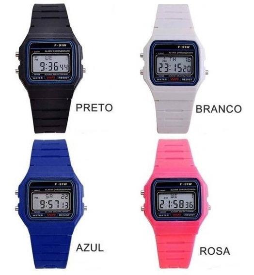 Relógio Casio F-91 80% Off Promoção Dia Dos Pais