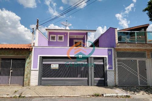 Sobrado À Venda, 225 M² Por R$ 920.000,00 - Jardim Santa Francisca - Guarulhos/sp - So0658