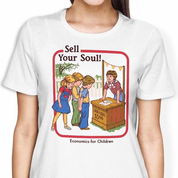 Playera Sell Your Soul Original De Steven Rhodes