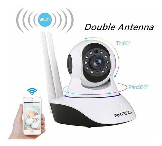 Camera Ip Vigia Bebe Com Microfone Audio Facil Instalação