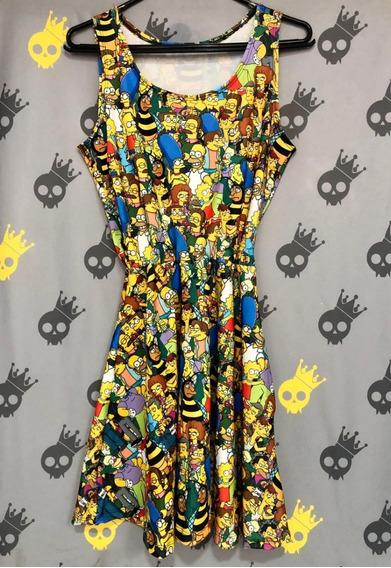 Vestido Gode - Pronta Entrega - Simpsons - Ludam Rock
