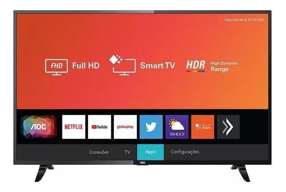 Smart Tv 43 Polegadas Led Aoc 43s5295/78g Com Wifi 2 Usb