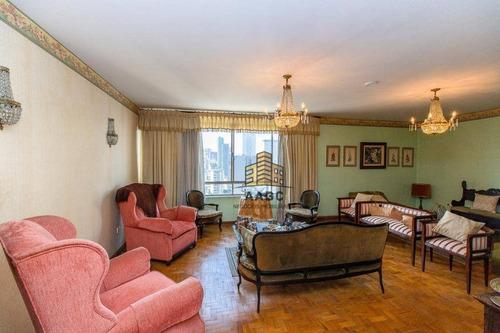 Imagem 1 de 23 de Apartamento Com 3 Dormitórios À Venda, 295 M² Por R$ 885.000,00 - Consolação - São Paulo/sp - Ap1226