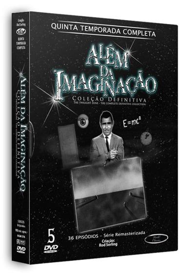Além Da Imaginação - Quinta Temporada 5 Discos