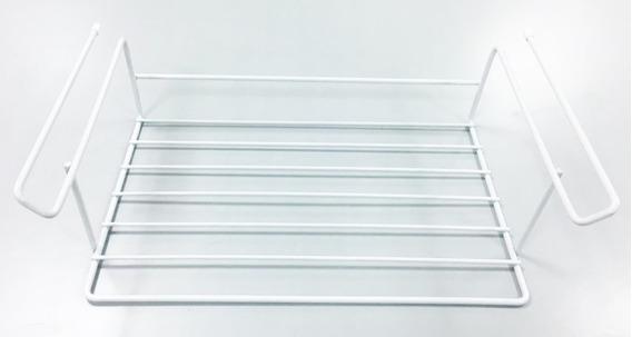 Estante Colgante Organizador De Alacena Blanco Alt:12,5cm
