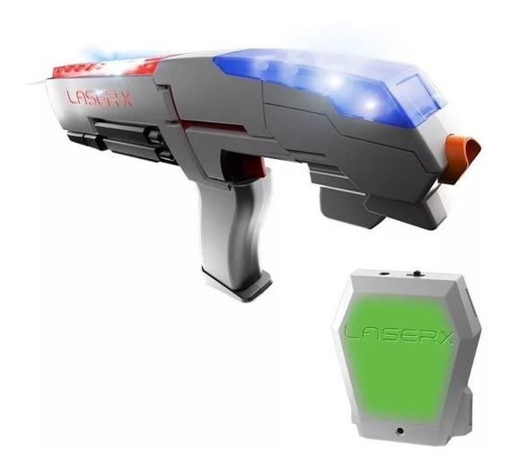Jogo De Combate Arma Laser X Blaster Com Colete Sunny