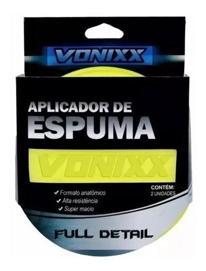 Espuma Aplicadora De Produtos Para Limpeza Automotiva Vonixx