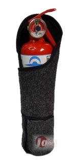 Soporte Matafuego 1kg Con Abrojo Cobertor Auto Camioneta