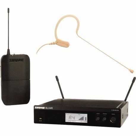 Shure Blx14r Mx53 Sistema De Microfone Sem Fio Headset