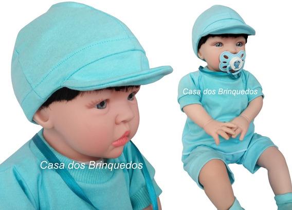 Bebê Realista Reborn Menino Barato Frete Grátis. Bonezinho!