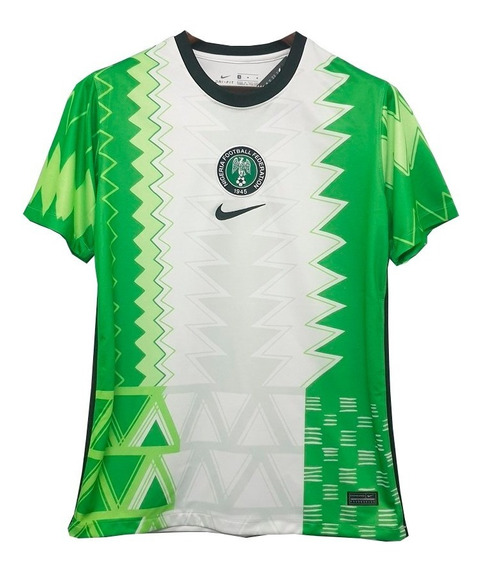 Camisa Nova Da Nigéria Masculino Torcedor - Super Promoção