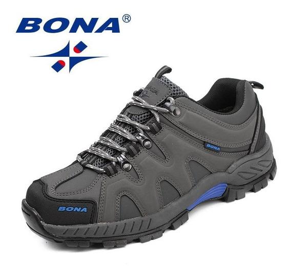 Bona Nova Chegada Estilo Clássico Homens Caminhada Sapatos