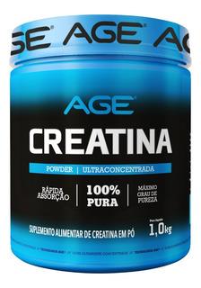 Creatina Monohidratada Ultra Concentrada 1kg - Age