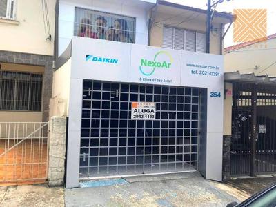 Casa Comercial Para Locação, Tatuapé, São Paulo. - Ca0948