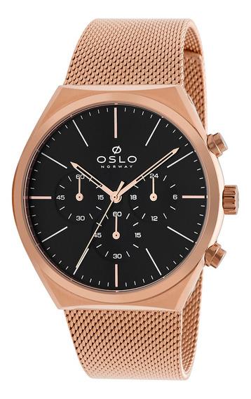 Relógio Oslo Omrsscvd0001 P1rx Aco Inox Feminino