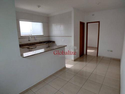 Imagem 1 de 22 de Apartamento Com 1 Dormitório À Venda, 52 M² Por R$ 175.000,00 - Parque São Vicente - São Vicente/sp - Ap1044
