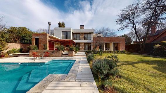 Magnifica Casa A Estrenar En Las Lomas De San Isidro