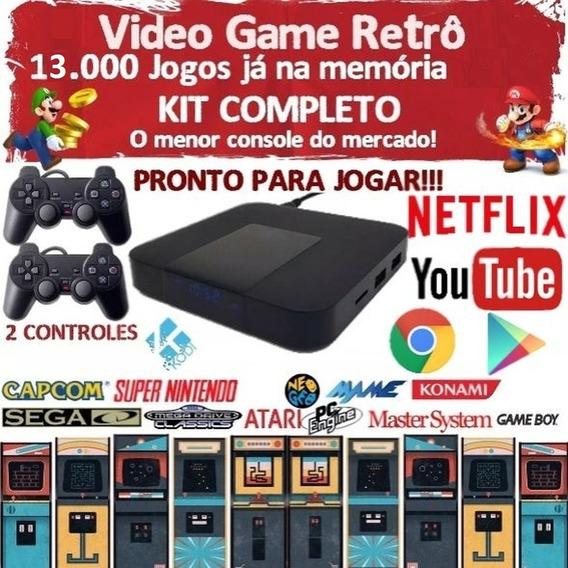 Mini Video Game Retrô Smartbox 13.000 Jogos