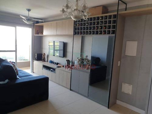 Apartamento Com 3 Dormitórios À Venda, 68 M² Por R$ 360.000,00 - Quinta Ranieri - Bauru/sp - Ap3800