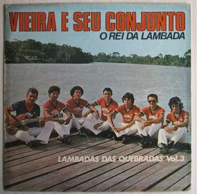 Lp Vieira E Seu Conjunto O Rei Da Lambada Vol 3